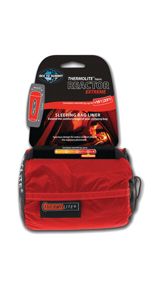 Sea to Summit Thermo Reactor Extreme - Sacos de dormir - rojo